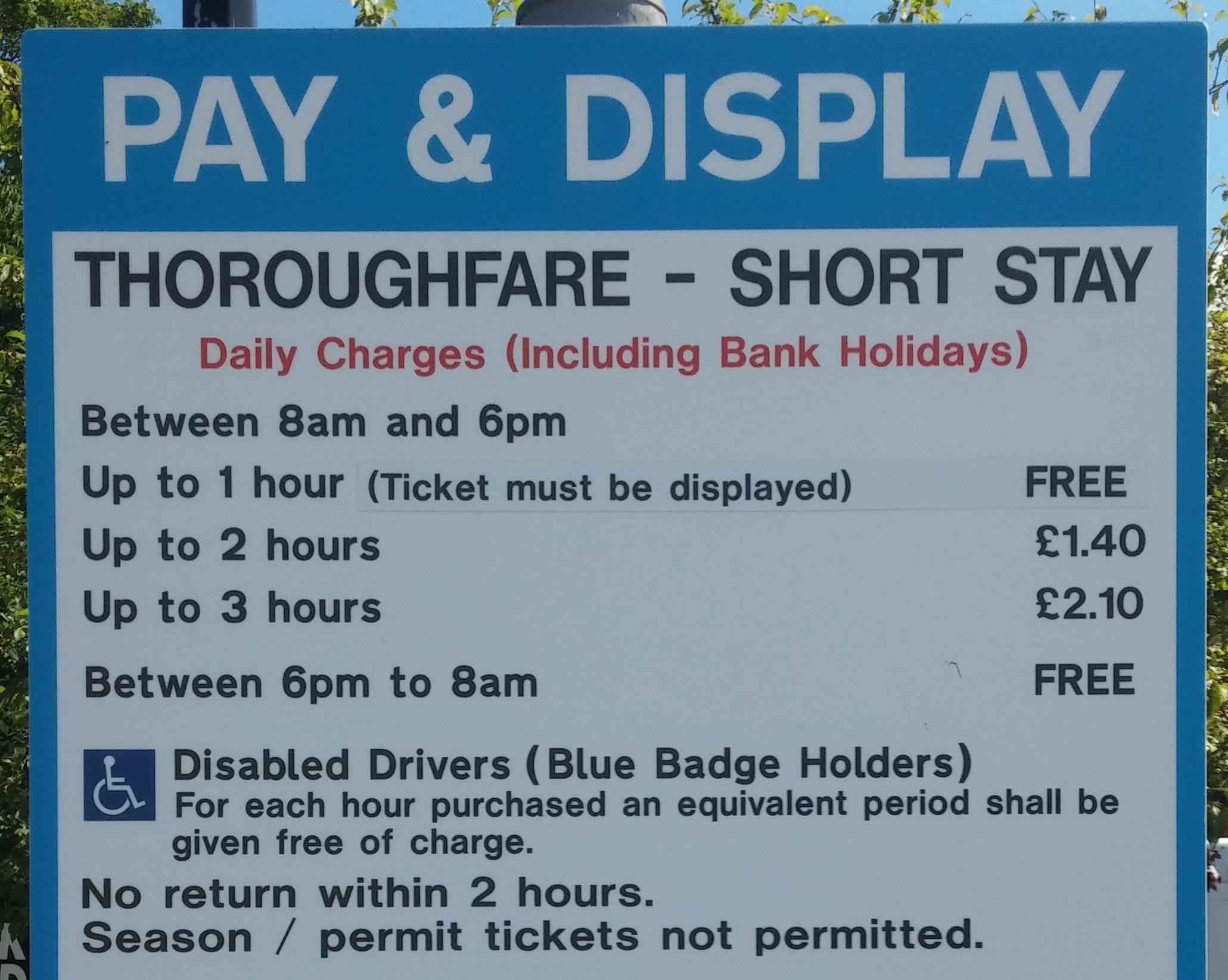 Free Parking Notice 01 08 16 short