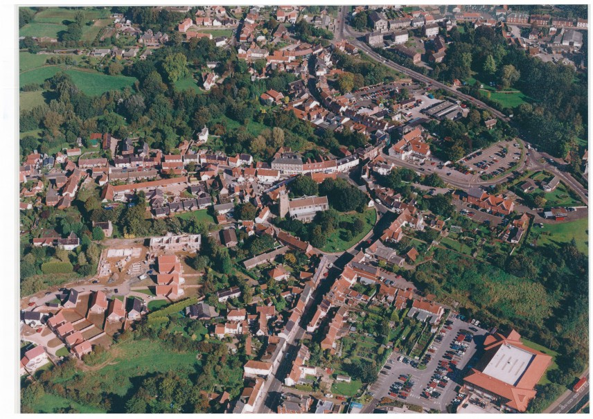 halesworth from the air
