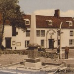 War Memorial & King's Arms Hotel, Halesworth