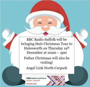 BBC Radio Suffolk Christmas Tour @ Angel Link North Car Park